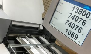 Increased offering through large format print and finishing equipment